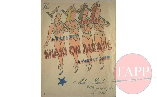 Des Bettany's Khaki on Parade poster