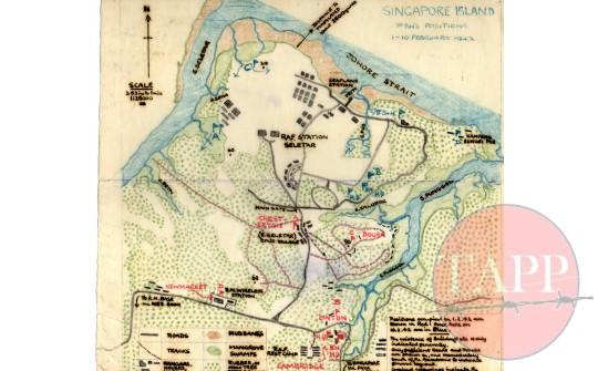 Sgt Moore's Map of Seletar Airfield