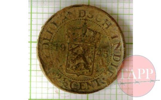 Dutch Coin made into a brooch