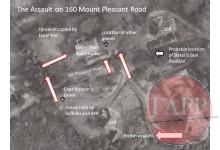 Plan of the assault
