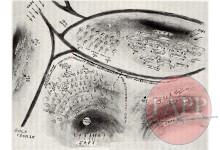 Sgt Len Baynes' Sketch Map