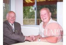 Joe Coombes and Lloyd Ellerman 2010