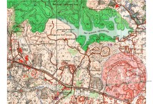 1938 OS map of Adam Park and immediate area