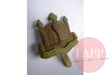 Cambridgeshire Cap Badge found at No.17 Adam Park