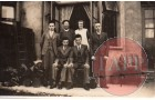 The first picture is at the back of their house in Prittlewell. This is guesstimate to about 1930. From l-R Brother Ernest, Father Reuben, mum Clara, Brother Fred, Front row L-R brother Horace and mum says a stern looking Arthur.