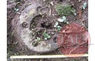 The wheel hub how it was found on site