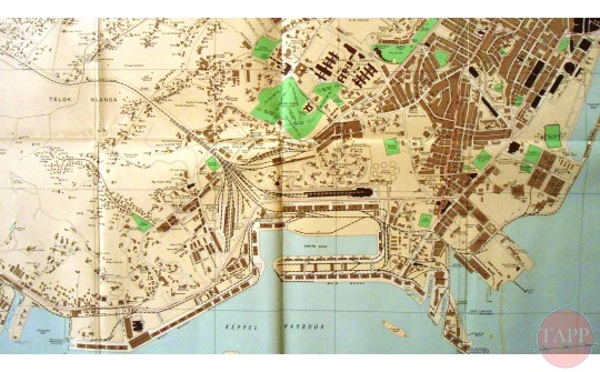 1938 road map of singapore adam park virtual museum